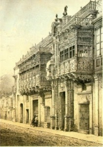 Calle de Torre Tagle. Lima
