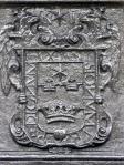 Armas de la ciudad de LIma, po Carlos V. Pila de la Plaza Mayor