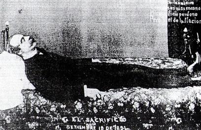 El suicida presidente de Chile, José Balmaceda Fernández