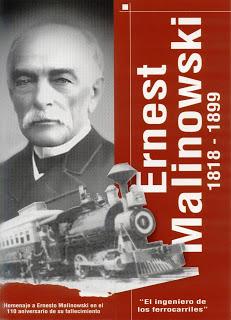 Ernest Malinowski, 110 aniversari9o de su fallecimiento