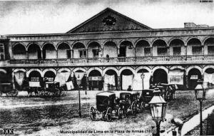 Municipalidad de Lima.1870