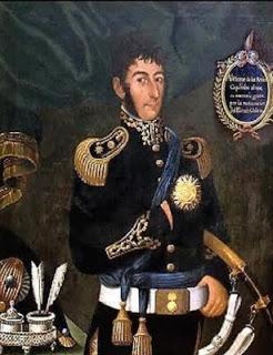 San Martín por José Gil y Castro