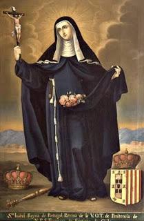 Santa Isabel reyna de Portuga, José Gil de Castro