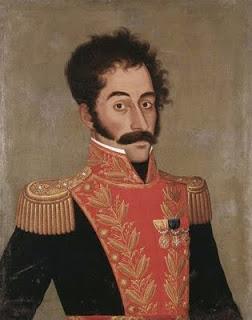 Simón Bolívar, por José Gil de Castro