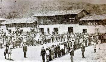 Breñeros en formción, 1882