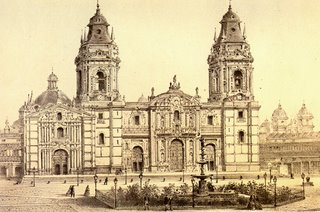 Catedral de Lima. S XIX.0