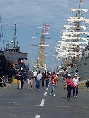 Esmeralda, Chile; ARA Libertad, Argentina; Guayas, Ecuador