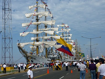 Gloria; Cuautémoch; Cisne Blanco; Sagres; Capitán Miranda