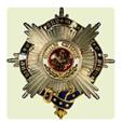 Orden prusiana Swarzen Adler