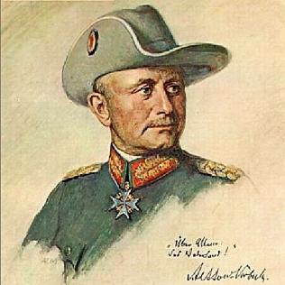 Paul Emil von Lettow-Vorbeck, el León del África (1870-1964)