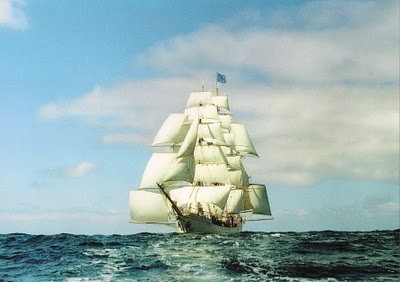 Postal de la bric-barca Europa