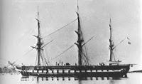 Fragata Novara, 1850