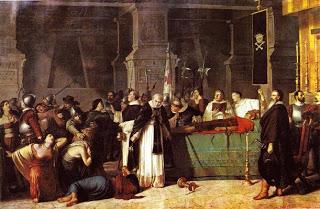Los Funerales de Atahualpa. Luis Montero