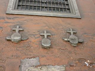 Las Cruces que dan nombre a la cuarta cuadra del Jr. Huanta