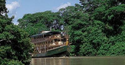 Antigua embarcación del Amazonas