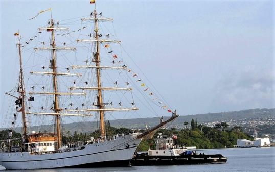 Guayas en Parl Harbour