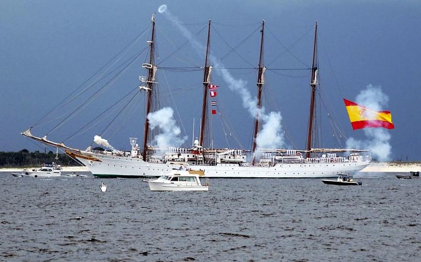 Juan Sebastian de Elcano at Pensacola
