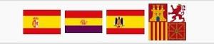 Juan Sebastián Elcano (A-71) Banderas