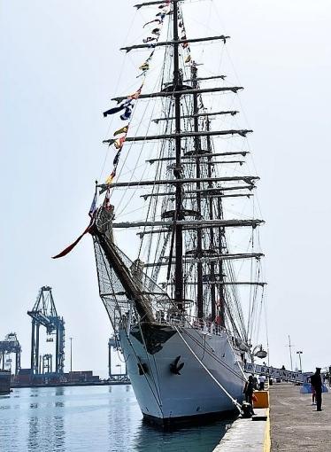 Unión en la Base Naval del Callao